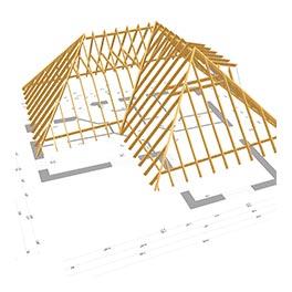 comparateur de prix charpente bois et charpente métallique à Saran